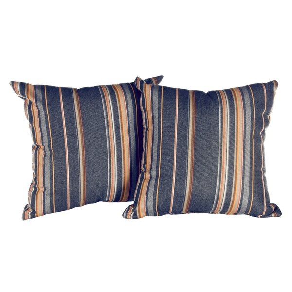 Antin Indoor/Outdoor Sunbrella Throw Pillow (Set of 2) by Darby Home Co