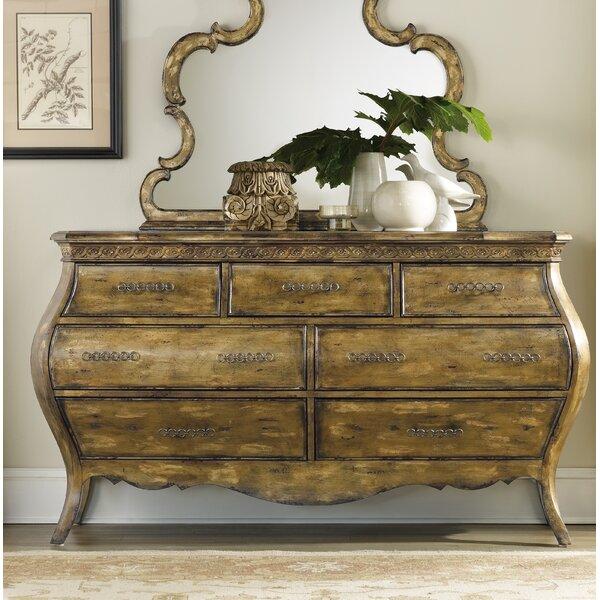 Sanctuary 7 Drawer Dresser by Hooker Furniture