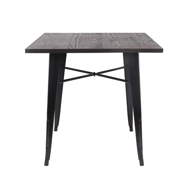 Arnt Tolix Style Dining Table by 17 Stories