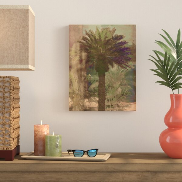 Palmae Painting Print on Wrapped Canvas by Bay Isle Home