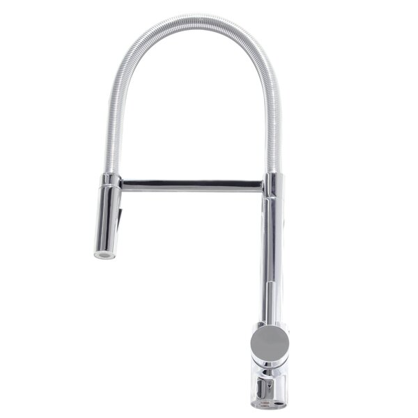 Barista Pull Down Single Handle Kitchen Faucet by Ancona