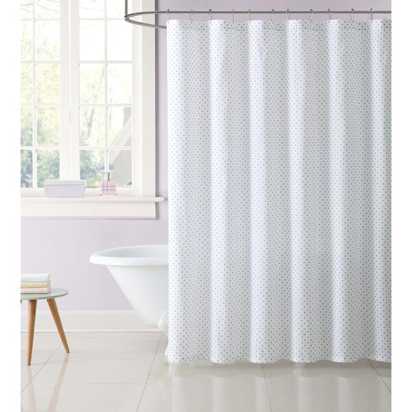 Dupree Everyday Dot Shower Curtain by Harriet Bee