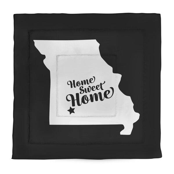 Home Sweet Springfield Mo Single Reversible Comforter