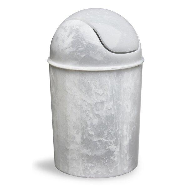 Mini 1.50 Gallon Swing Top Waste Basket by Umbra