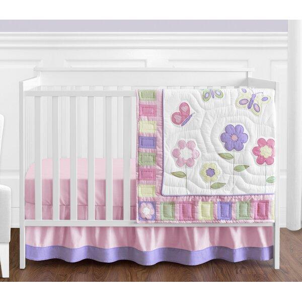 Butterfly 4 Piece Crib Bedding Set by Sweet Jojo Designs