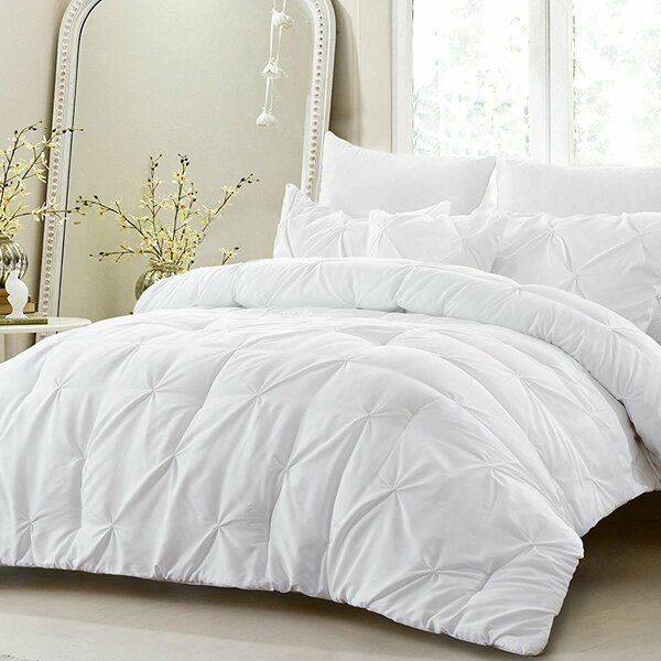Melgar 4 Piece Reversible Comforter Set by House o