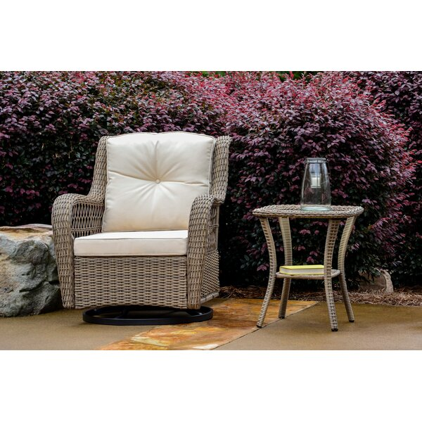 Lenita 2 Piece Glider Chair Set with Cushions by August Grove