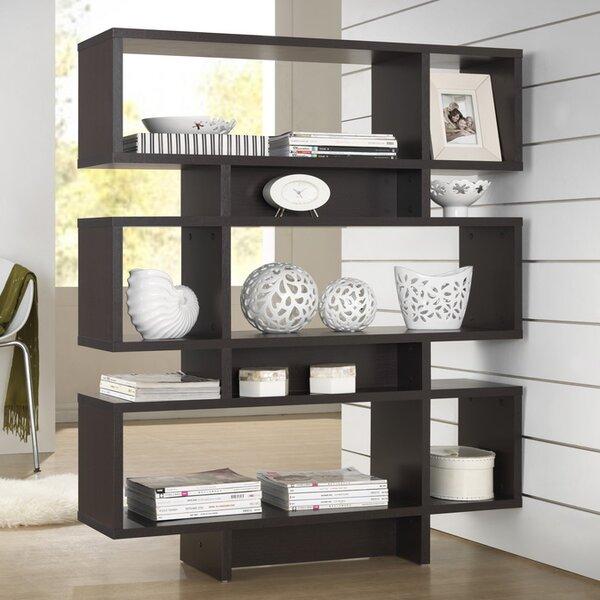 Cade 6-Level Geometric Bookcase by Brayden Studio