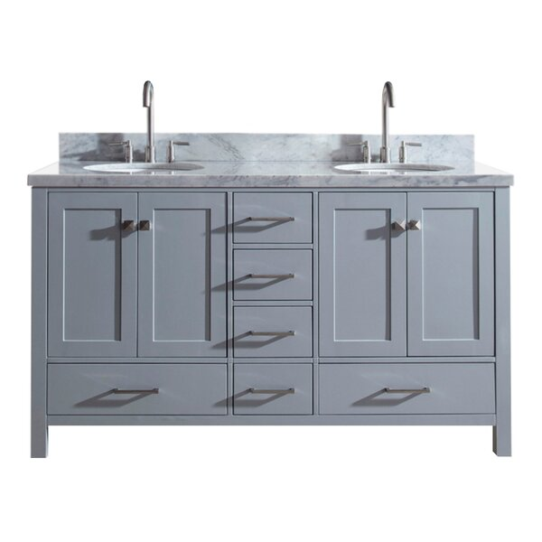 Utley 61 Double Bathroom Vanity Set by Andover Mills