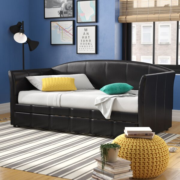 Daybed with Trundle by Mercury Row