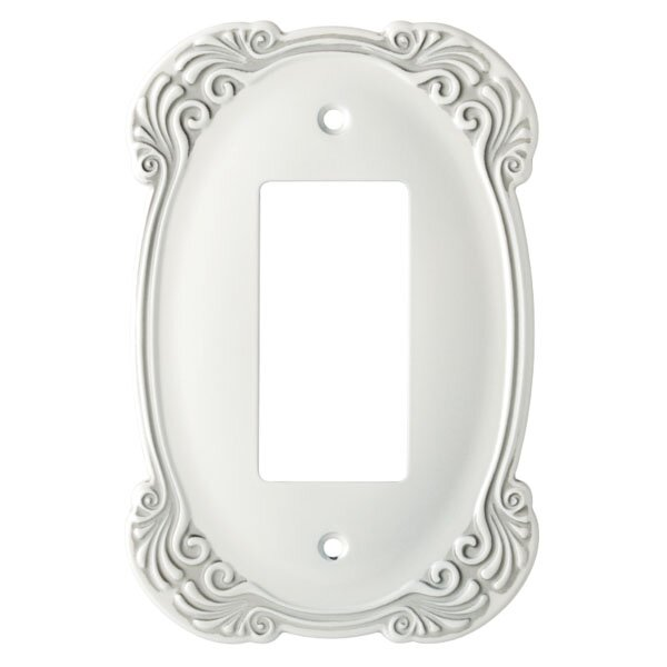 Arboresque Single Decorator Socket Plate by Frankl