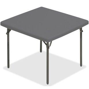 Best Choices IndestrucTableTOO Square 37 Square Folding Table ByIceberg Enterprises