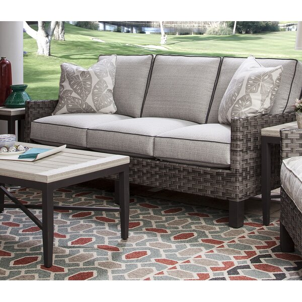 Luciano Patio Sofa with Sunbrella Cushions by Braxton Culler Braxton Culler