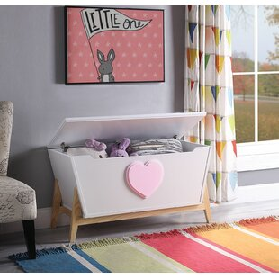 Burcham Wooden Lift Top Storage Bench