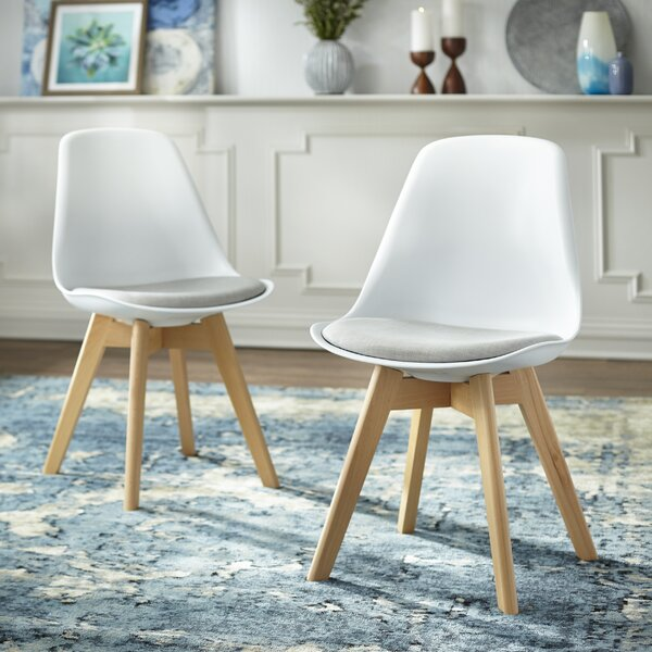 Norfolk Upholstered Dining Chair (Set of 2) by Wrought Studio