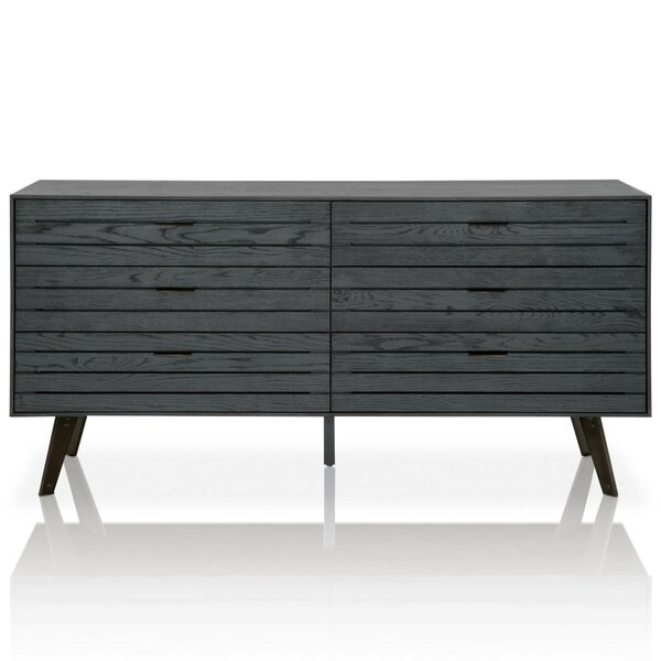 Mahore 6 Drawer Double Dresser by Union Rustic