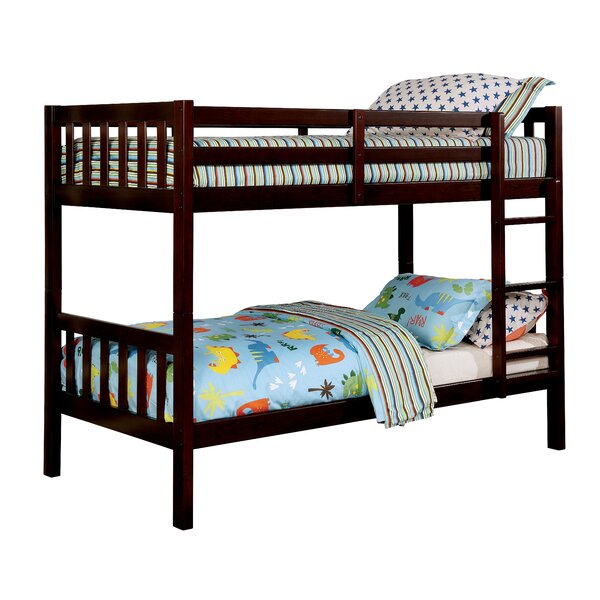Sumas Twin on Twin Bunk Bed by Harriet Bee