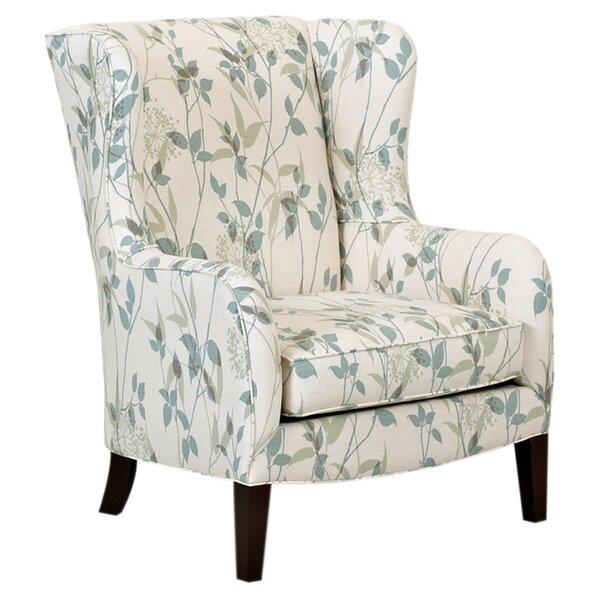Iowa Wingback Chair by Charlton Home