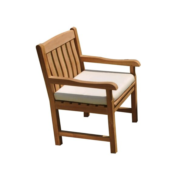 Devon Folding Teak Patio Dining Chair by Teak Smith
