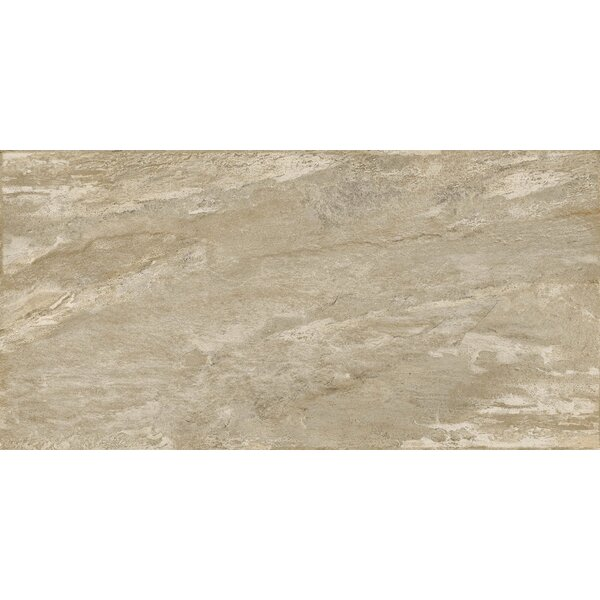 Milestone 24 x 47 Porcelain Field Tile in Taupe by Emser Tile