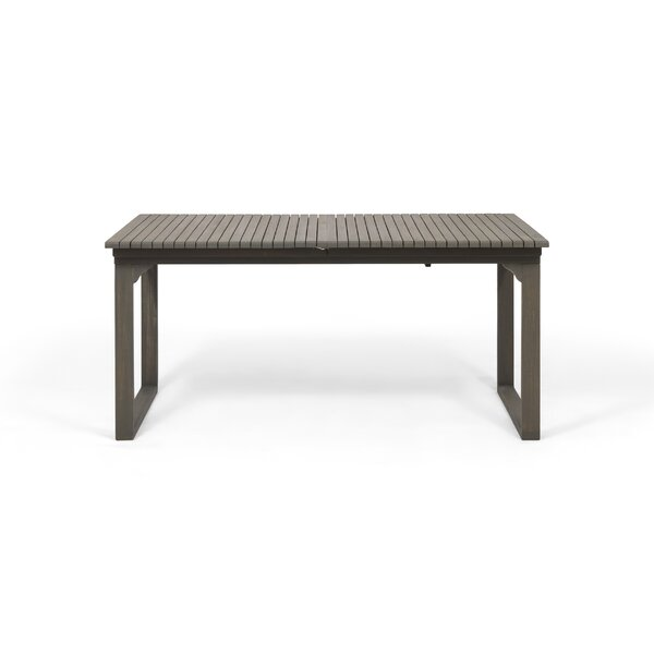 Bonnet Extendable Wooden Dining Table By Latitude Run