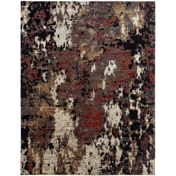 Rawtenstallones Brown/Black/Gray Indoor/Outdoor Area Rug by Williston Forge