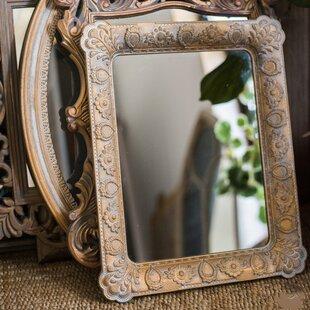 Ophelia & Co. Nantucket Carving Frame Rectangular Accent Mirror