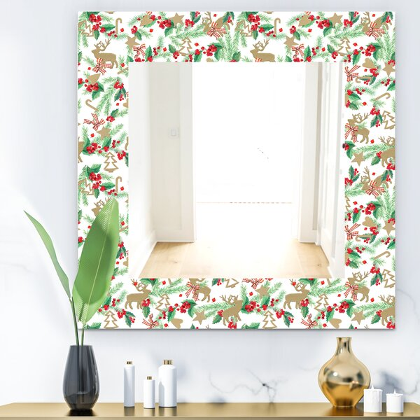 Christmas Decoration Traditional Wall Mirror