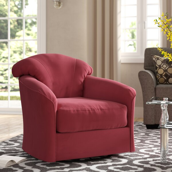 Exeter Swivel Barrel Chair by Klaussner Furniture Klaussner Furniture