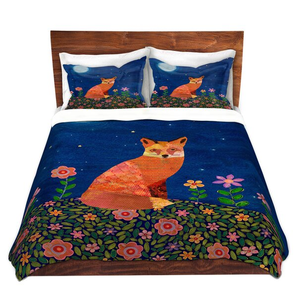 Fox On Hill Duvet Cover Set