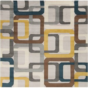 Dewald Gray Area Rug