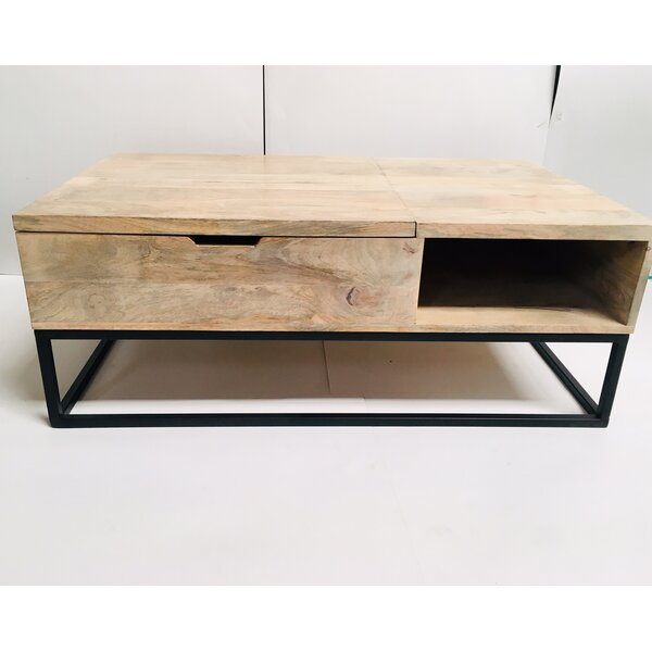 Lybarger Coffee Table with Storage by Williston Forge