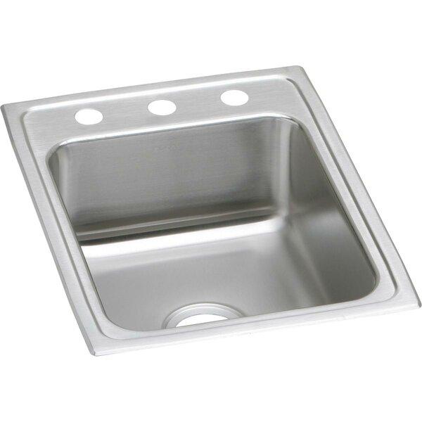 Lustertone 17 L x 22 W Drop-In Kitchen Sink by Elkay