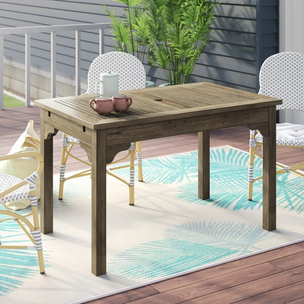 Aranmore Solid Wood Dining Table By Beachcrest Home