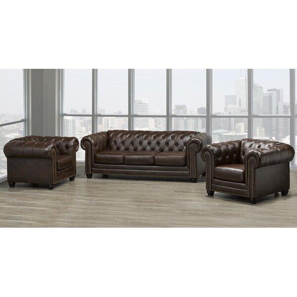 Ornellas 3 Piece Living Room Set by Astoria Grand