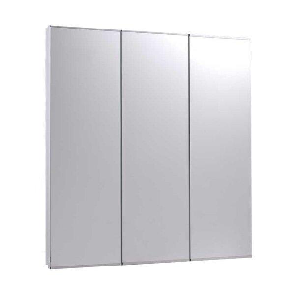 Zachery 30 x 30 Recessed Medicine Cabinet by Ebern Designs
