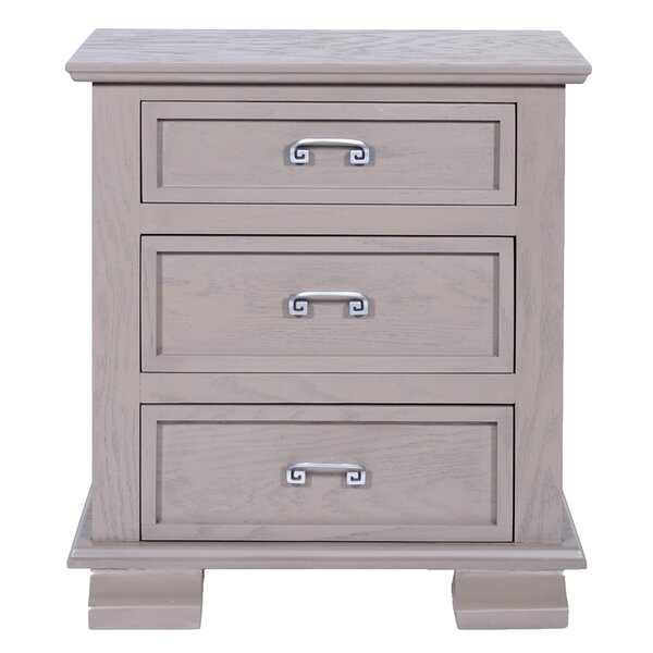 Cavali 3 Drawer Nightstand by REZ Furniture