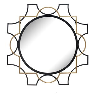 Everly Quinn Herefordshire Iron Accent Mirror