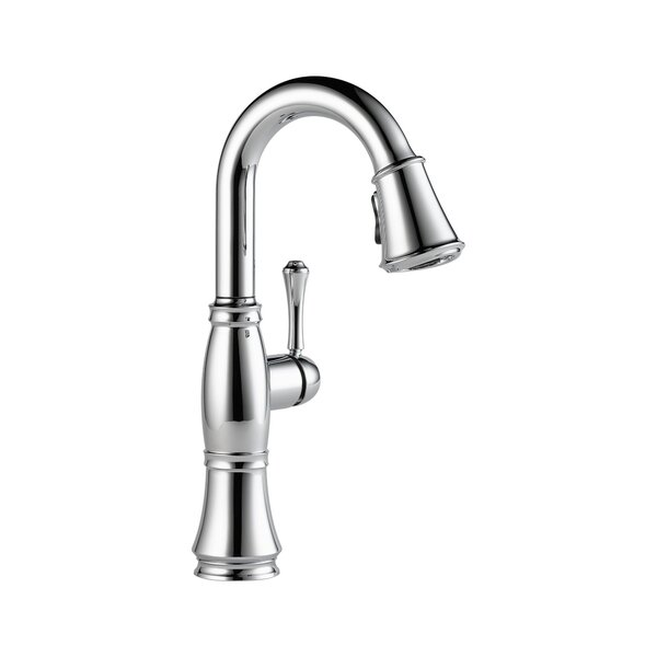 Cassidy Pull Down Touch Single Handle Kitchen Faucet with MagnaTite Docking by Delta