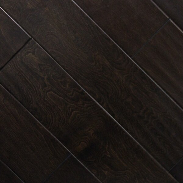 5 x 48 x 2.7mm Birch Laminate Flooring in Fudge by Serradon