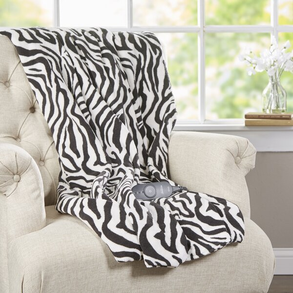 Microplush Heated Throw by Sunbeam