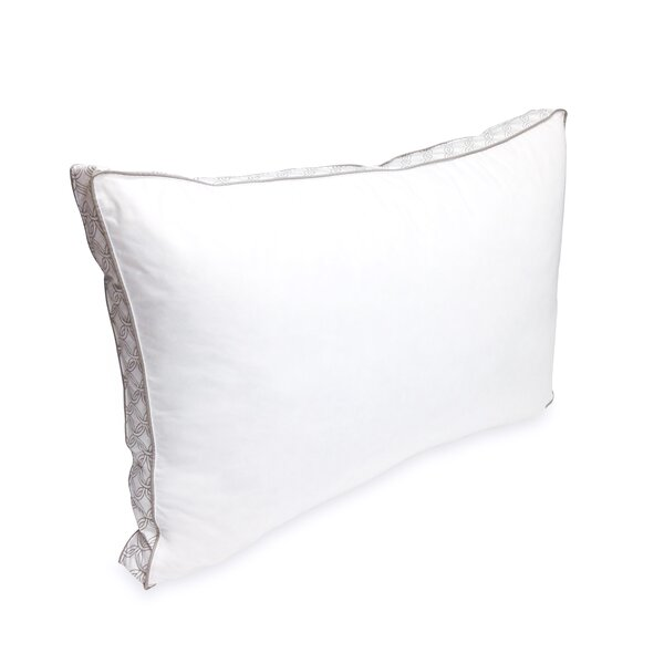 Laundry Printed Gusset Polyfill Queen Pillow by Laundry by Shelli Segal