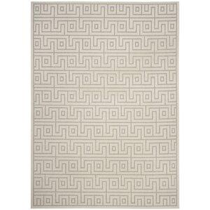 Apollina Light Gray/Cream Indoor/Outdoor Area Rug