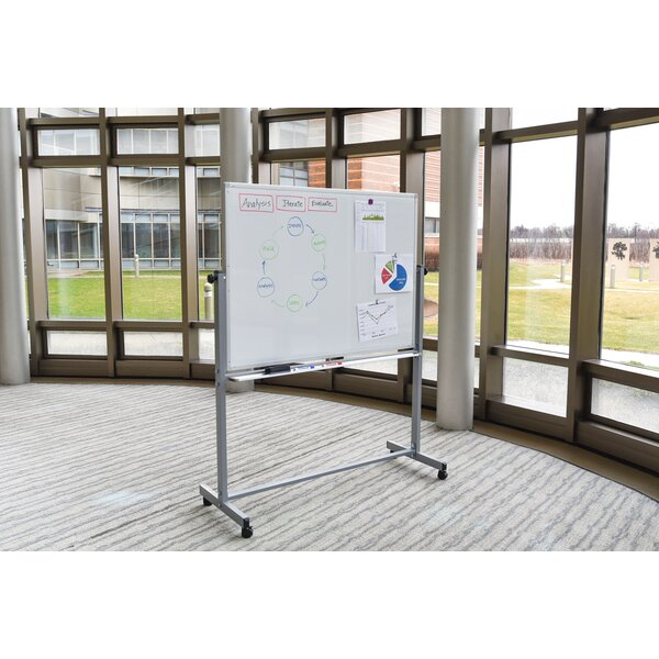 Reversible Magnetic Whiteboard by Offex