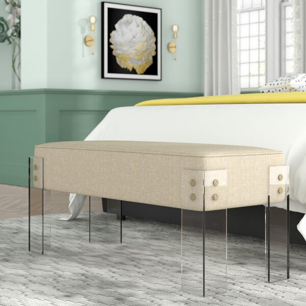 Fortune Upholstered Bench by Willa Arlo Interiors