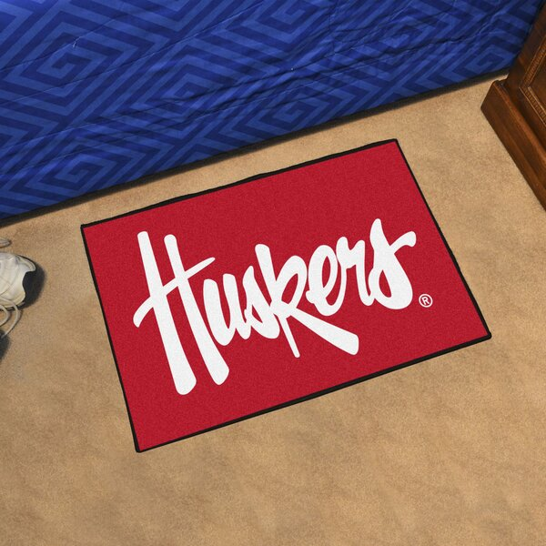University of Nebraska Doormat by FANMATS