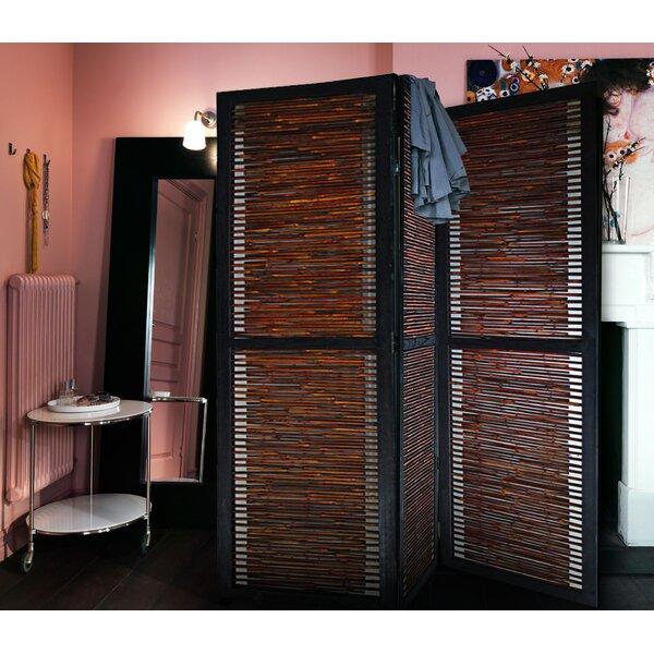 Saez 3 Panel Room Divider by Bay Isle Home