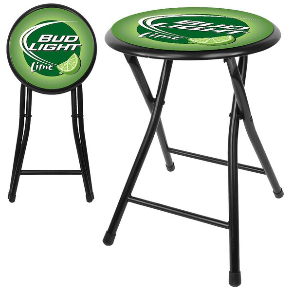 Bud Light 18 Bar Stool by Trademark Global