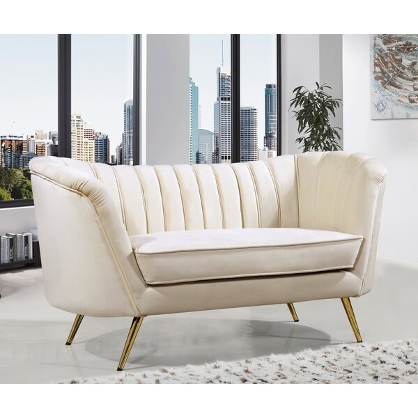 Get Premium Larissa Loveseat by Everly Quinn by Everly Quinn