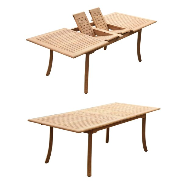 Keon 7 Piece Teak Dining Set by Rosecliff Heights